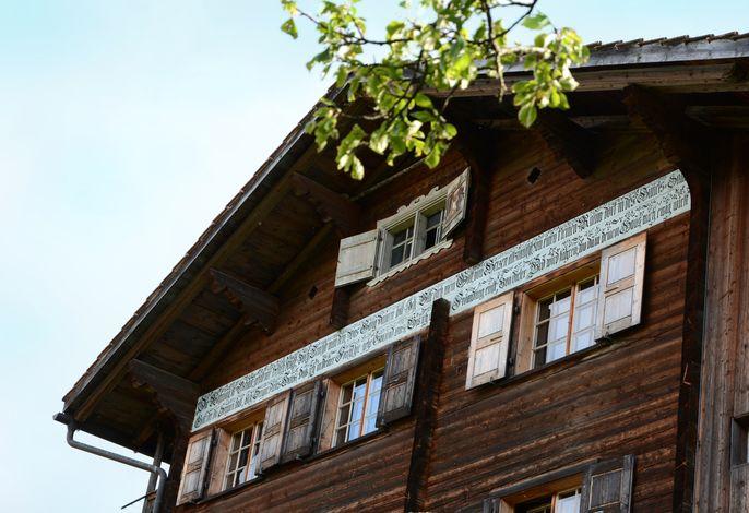 Casa Grischina mitten im Bündner Bergparadies