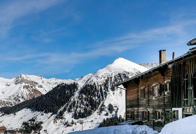 Inmitten der St. Antönier Bergewelt