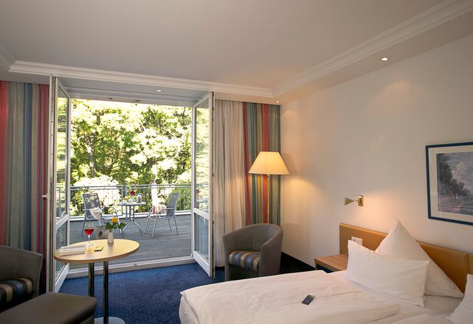 Doppelzimmer Komfort, Parkseite