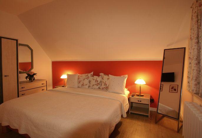 Studio-Appartement Schlafzimmer