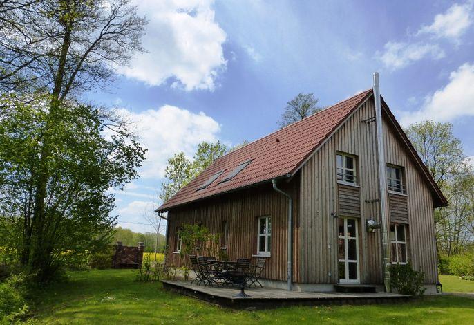 Ferienhaus-Terrasse-Erle