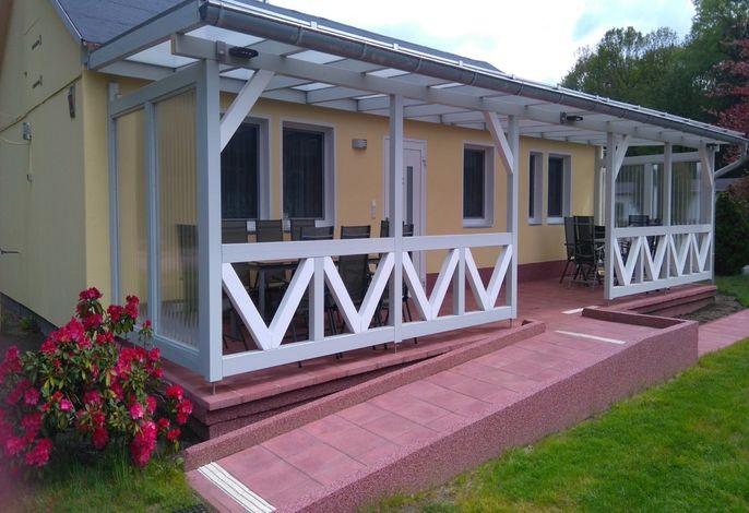 barrierefreies Ferienhaus Großtrappe mit Rollirampe