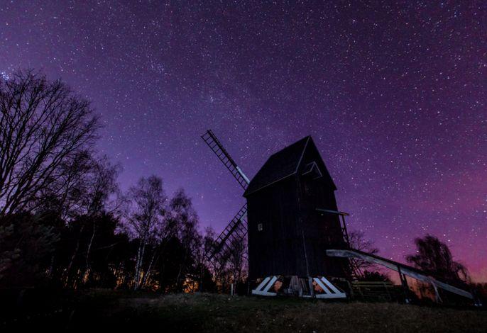 Sternenhimmel im Westhavelland © Christoph Prochotta