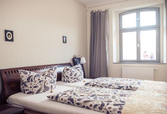 Ferienwohnung Heinrich - barrierefreies Schlafzimmer