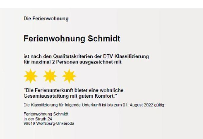 Ferienwohnung am Rennsteig bei Eisenach - Ilona Schmidt