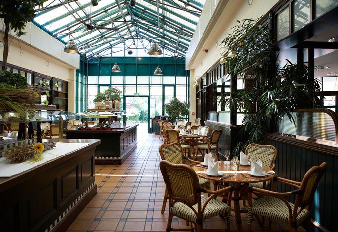 Restaurant mit Wintergarten