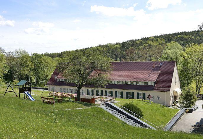 Aussensicht Landhotel Alte Fliegerschule