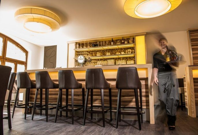 B&S Hotel am Bachhaus Restaurantbereich