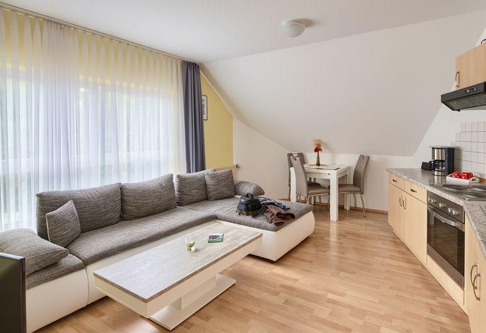 Ferienwohnung 9B Nr. 3 - kombinierter Wohn- und Essbereich