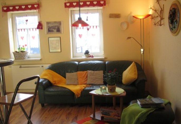 Ferienwohnung Sonnenbogen - Wohnzimmer