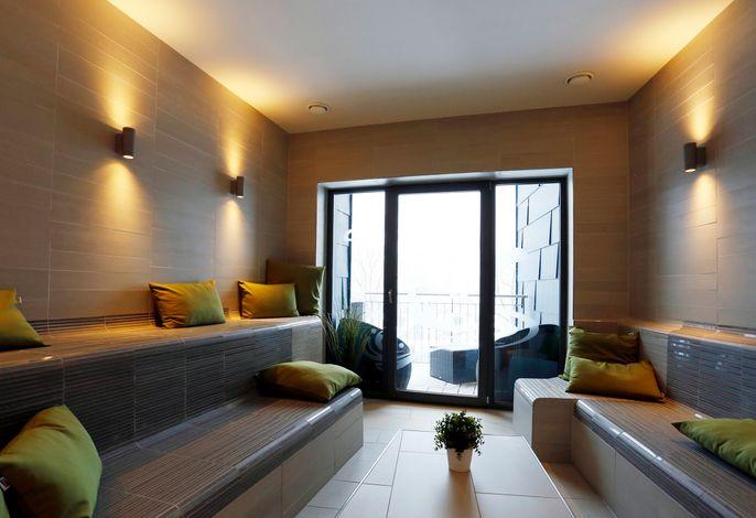 Pool- und Saunabereich im Berghotel Oberhof