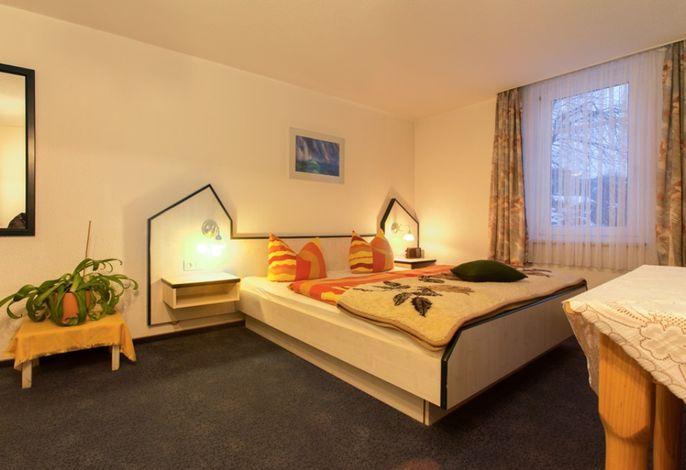 Ferienwohnung Wohn- Schlafbereich