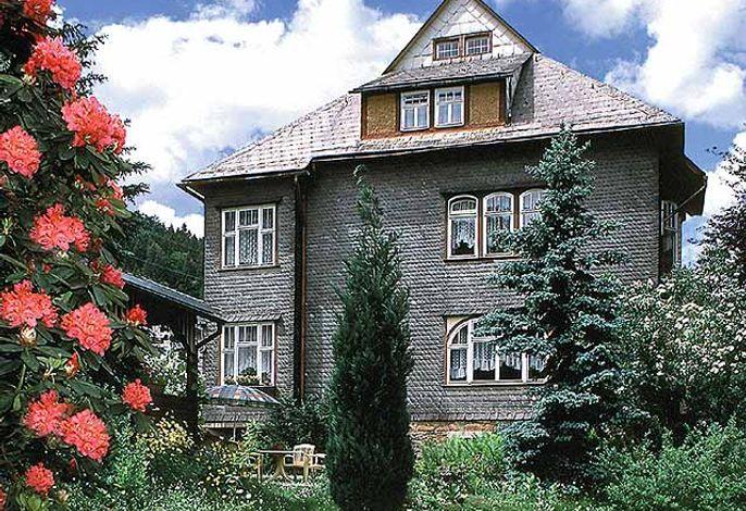 Villa Perlenheinz, Gartenansicht