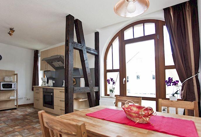 Küche 4 Sterne Ferienwohnung Auszeit  Bad Berka, Weimarer Land, Thüringen