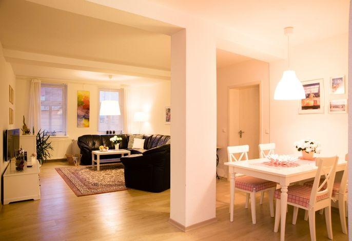 Apartment 1 Wohnbereich