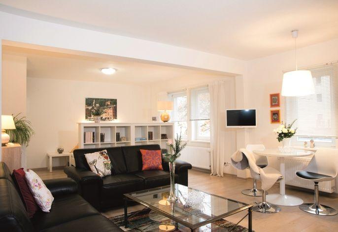 Apartment 2 Wartburg - Wohnbereich