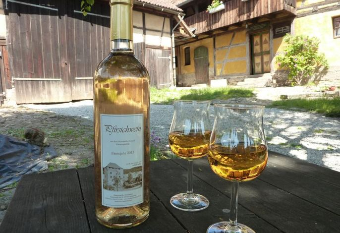 Wein aus eigener Produktion