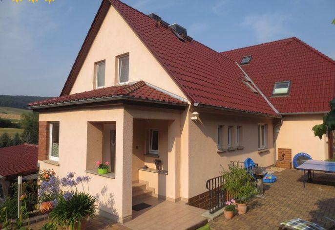 Haus mit Terrasse, Grill, Tischtennis usw.