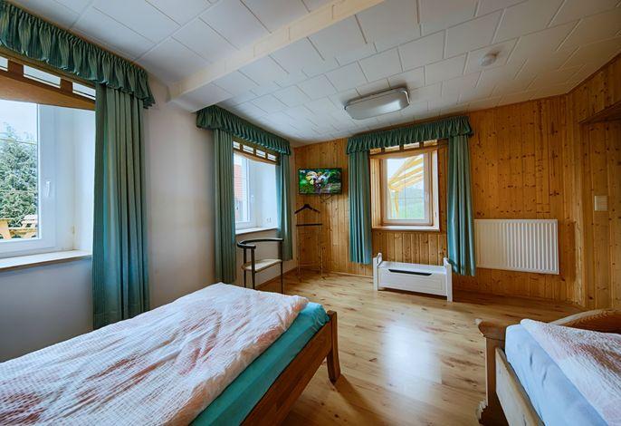 andere Ansicht Schlafzimmer mit 2. Betten