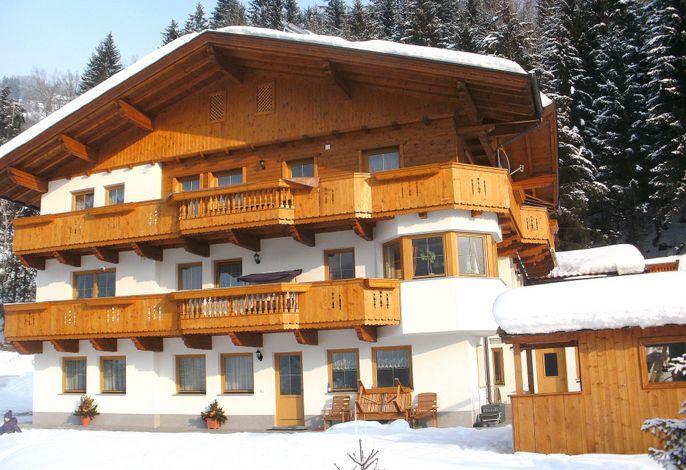 Außenseite Ferienhaus [Winter]