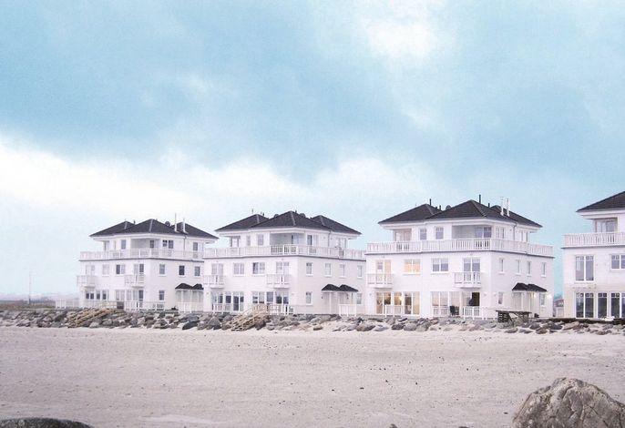Weiße Strandvilla/58c
