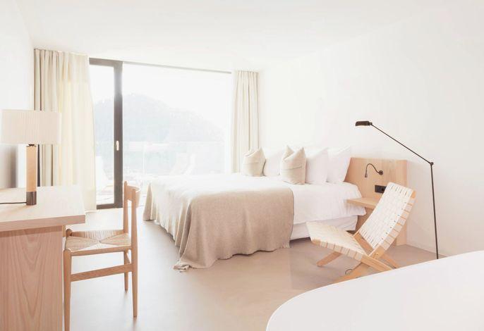 Atemberaubende Natur gepaart mit beeindruckender Architektur und Gastgeber die sich ganz individuell um ihre Gäste kümmern.