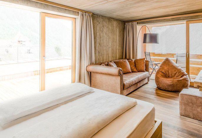 Panoram Suite Deluxe mit Sauna