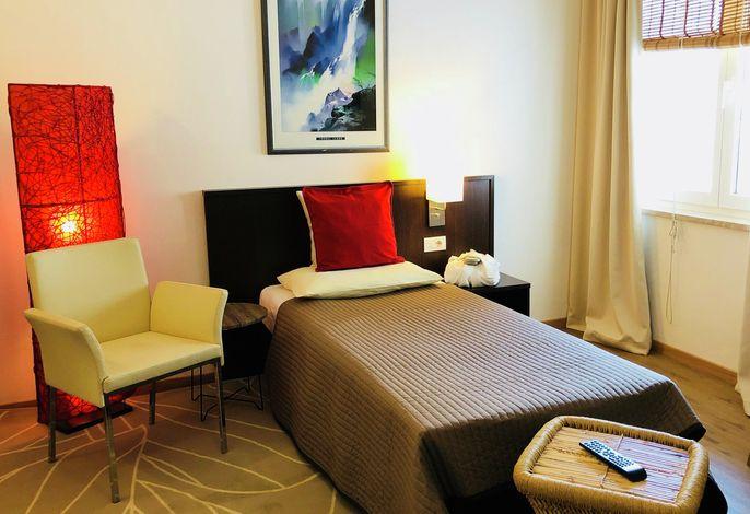 Das Activ Resort BAMBOO ist das Nebenhaus des Hotels und bietet verschiedene Zimmer-Kategorien.