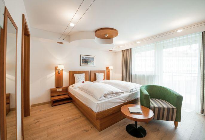 DieKrone, ein Hotel in Brixen, dasdie Stadt mit dem Berg verbindet, ein Hotspot für Biker, Städtereisende & Shopping-Queens