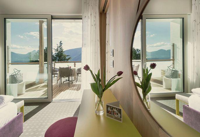 Großzügige Zimmer & Suiten zum Wohlfühlen im Urlaub: Die Hohenwart Suite