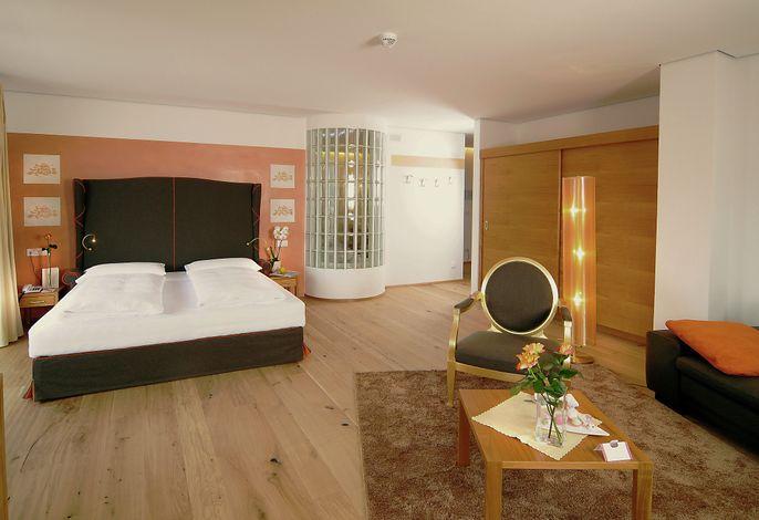 Rosen Suite im 4*s Hotel in Schenna Meran