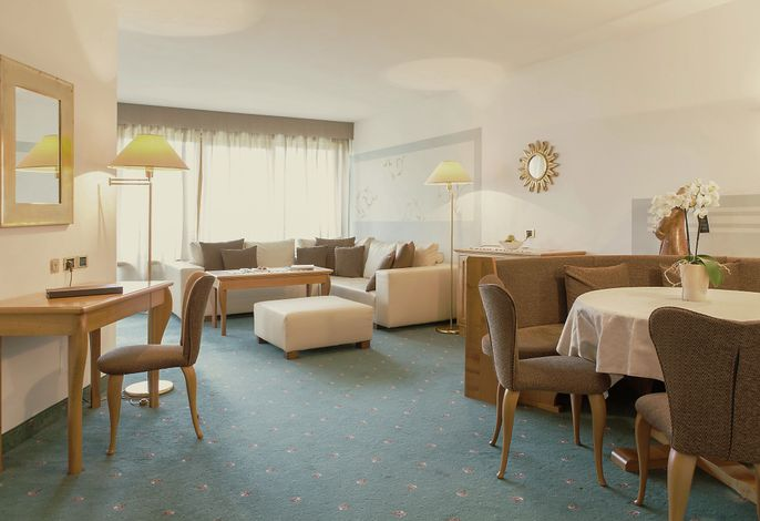 Turm Suite im Hotel Hohenwart in Meran Südtirol