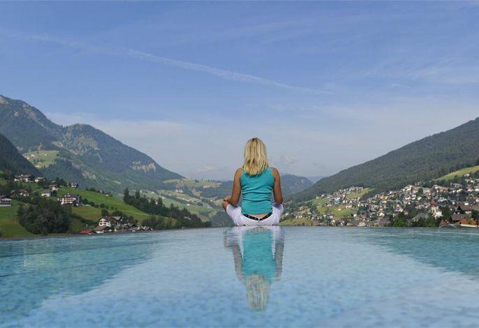 Alpenheim Charming & Spa - aussen Pool