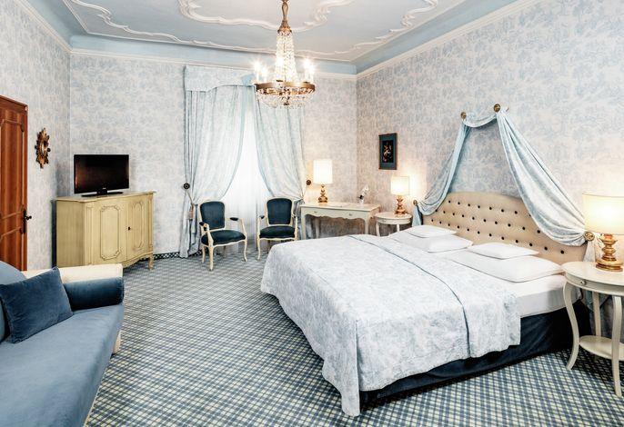 Historisches Gemäuer und individueller Wohnkomfort verbinden sich im Parkhotel Mondschein zu einer einzigartigen Atmosphäre.