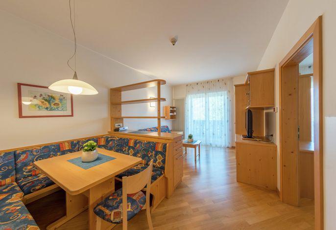 Zweiraumappartement Nr. 7 - Wohnzimmer