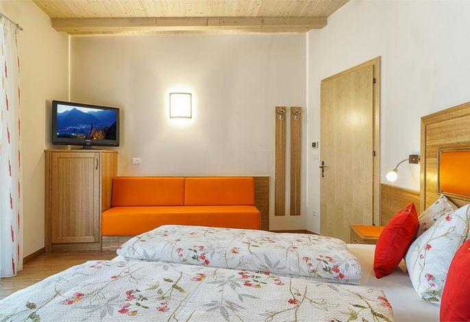 Dreiraumappartement Nr. 10 - Schlafzimmer