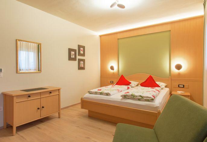 Zweiraumappartement Nr. 6 - Schlafzimmer