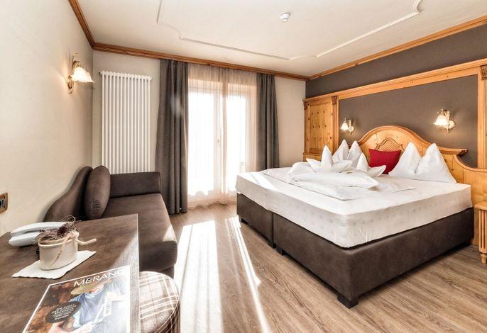 Familiäres Komforthotel in ruhiger Lage, idealer Ausgangspunkt für die schönsten Wanderungen und Radtouren.
