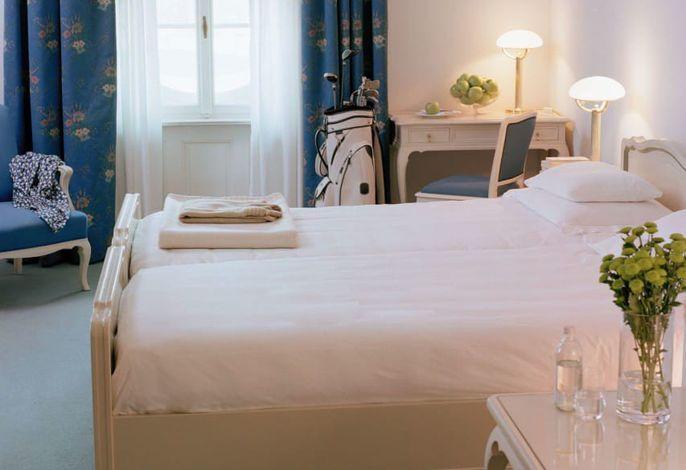 Das Parkhotel Laurin im Zentrum von Bozen bietet 100 kostbare Zimmer. Regional-mediterrane Küche im Restaurant Laurin. Gute Drinks, live Konzerte und Zigarren in der Laurin Bar und Smokers' Lounge. Privater Park mit Restaurant, Bar und Pool<