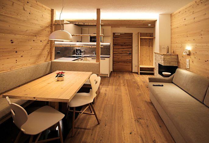 Appartement Suite Wohnraum Typ B