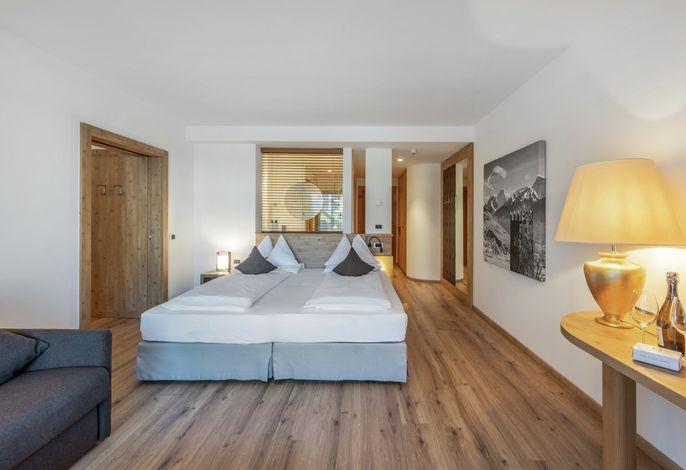Eintreten in ein Haus mit Komfort, Atmosphäre und Behaglichkeit.