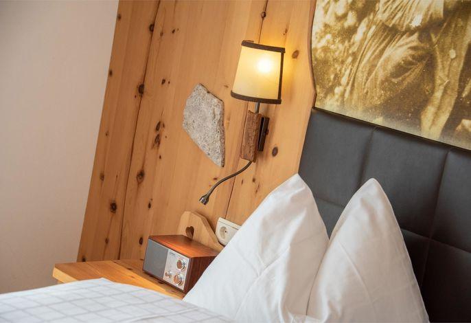 Das Wander-, Ski und Verwöhnhotel Dosses: Sommer wie Winter ist das Dosses der Ausgangspunkt für die schönsten Wanderungen im Rosengarten-Latemar-Schlern Gebiet.