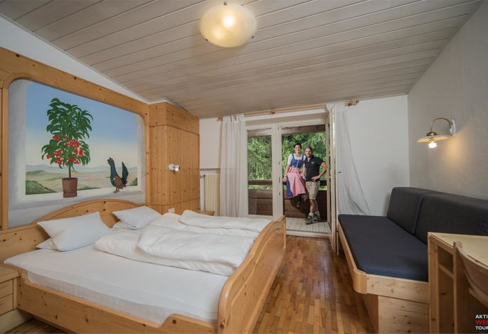 Möglichkeit für Einzel-, Doppel-, Dreibett- und sogar Vierbett-Zimmer