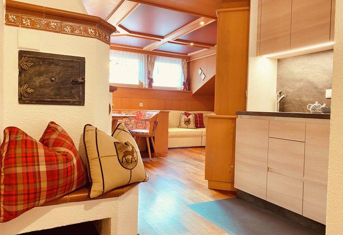 Appartement Alpin-Wohnzimmer