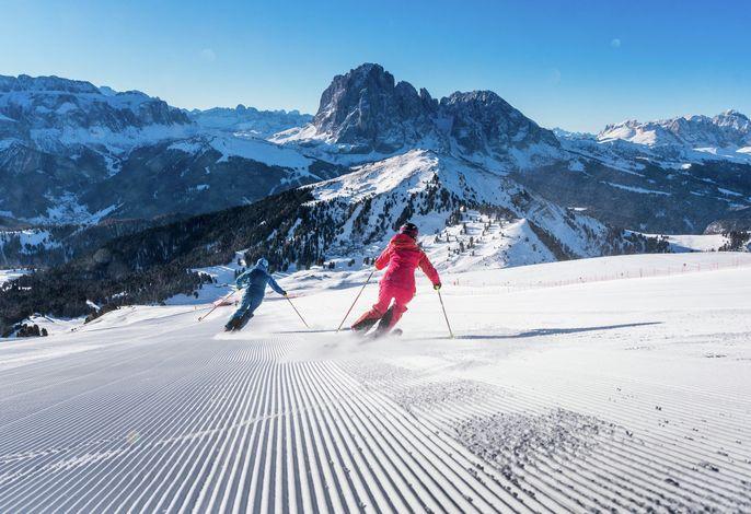 Skifahren in Gröden