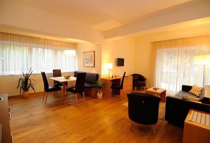 Urlaub in SÜdtirol zum WohlfÜhlen - Apparthotel Gartenresidence Nalserhof