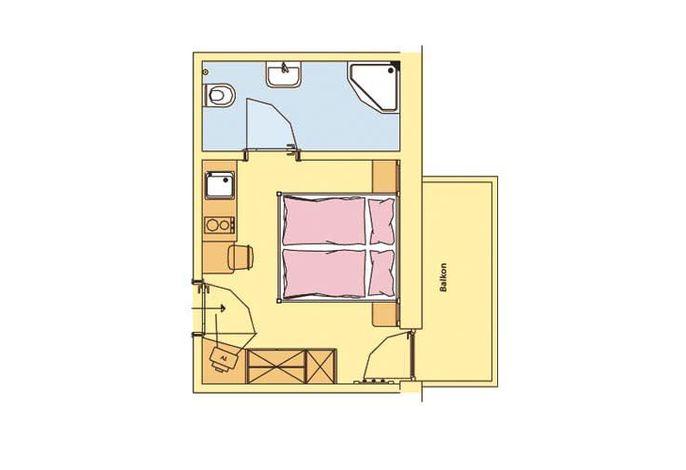 Verlockend und bequem: die Freiheit der Ferienwohnung verbunden mit dem Service des Hotel Alpenrose. Sie gestalten Ihren Urlaub in Schenna nach Lust und Laune und nutzen alle Einrichtungen beider Häuser.