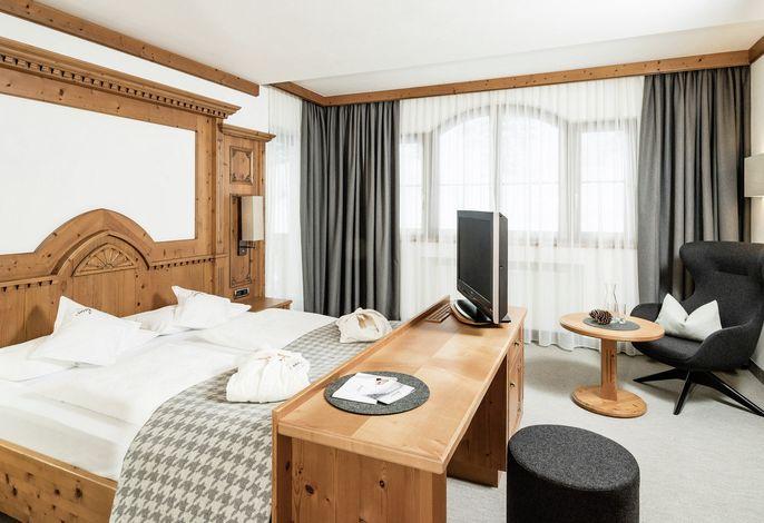 Hotel mit einladendem Ambiente, einem Hauch von Luxus und exzellente Gourmet-Küche, einem guten sortierten Weinkeller mit über 250 Etiketten.