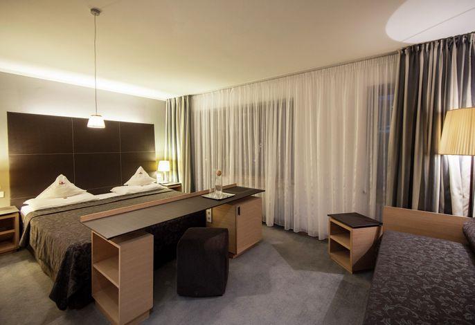 Direkt am Hotel können Sie die Sella Ronda beginnen, oder Ihre Skilehrer treffen, die sich direkt am Biancaneve Family Hotel vereinen. In einem atemberaubenden Kontext, finden Sie hier Ecken der Entspannung und Ruhe