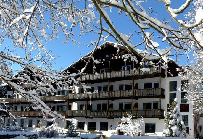 Hotel Perwanger im Winter